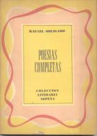 RAFAEL OBLIGADO - POESIAS COMPLETAS - COLECCION LITERARIA SOPENA - 142 PAGINAS AÑO 1963 - Poetry