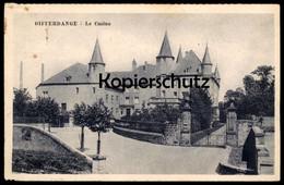 ALTE POSTKARTE DIFFERDANGE LE CASINO 1939 Differdingen Luxemburg Luxembourg Cpa Postcard AK Ansichtskarte - Differdingen