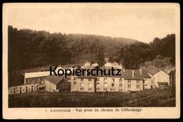 ALTE POSTKARTE LASAUVAGE VUS PRISE DU CHEMIN DE DIFFERDANGE Differdingen Luxemburg Luxembourg Cpa Postcard Ansichtskarte - Differdingen