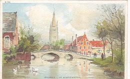 Bruges - Brugge - Le Minnewater - Brugge