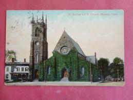 Meriden,CT-- St. Andrew's P.E. Church--cancel 1909--PJ 133 - United States