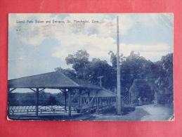 Manchester,CT--Laurel Park Station--cancel 1908--PJ 133 - United States