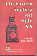 LITERATURA INGLESA DEL SIGLO XX - ENRIQUE LUIS REVOL - EDITORIAL COLUMBA  461 PAGINAS AÑO 1973 - Horror