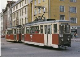 ELBLAG (ELBING) POLOGNE TRAMWAY En Juin 1991  Détails 2ème Scan - Tramways