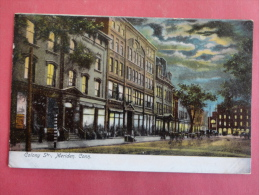 Meriden,CT--Colony Street--not Mailed--PJ 134 - United States