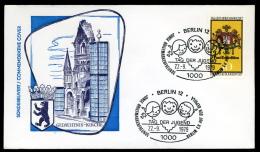 27930) BRD - Brief - SoST 1000 BERLIN 12 Vom 22.9.1979 - BEPHILA Tag Der Jugend - Poststempel - Freistempel