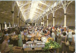Devon Postcard - Pannier Market, Barnstaple     LC1810 - England