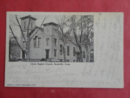 Montville,CT--Union Baptist Church--not Mailed--PJ 134 - United States