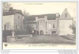 SAINT-SANDOUX - Le Château - Clermont Ferrand