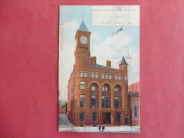 Middleton,CT--Municipal Building--cancel 1908--PJ 134 - United States