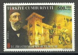 Turkey - 2003 - ( Agriculture Bank, 140th Anniv. ) - MNH (**) - 1921-... República