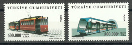 Turkey - 2003 - ( Trains ) - MNH (**) - 1921-... República