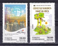 Turkey - 2003 - ( Europa ) - Complete Set - MNH (**) - 1921-... República