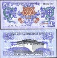 Bhutan 2006 1 Ngultrum Banknotes Uncirculated UNC - Unclassified