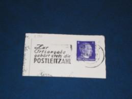 D-Reich Deutches Reich 3. Reich Werbestempel 1944 Aachen Zur Ortsangabe Gehört Steets Die Postleitzahl - Germany