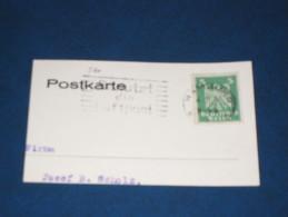 D-Reich Deutches Reich 3. Reich Werbestempel 1926 Hamburg Benutzt Die Luftpost Airmail - Alemania