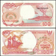 Indonesia 1992 100 Rupiah Banknotes Uncirculated UNC - Banknotes
