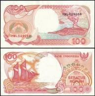 Indonesia 1992 100 Rupiah Banknotes Uncirculated UNC - Bankbiljetten