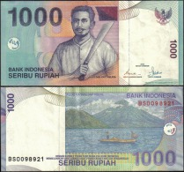 Indonesia 1992 1000 Rupiah Banknotes Uncirculated UNC - Bankbiljetten