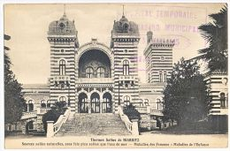 BASSES PYRENEES CP EN FM 1915 HOPITAL TEMPORAIRE CASINO MUNICIPAL BIARRITZ - 1877-1920: Semi-moderne Periode
