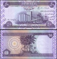 Iraq 50 Dinars Banknotes Uncirculated UNC - Unclassified