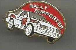 Rallye Supporter  Toyota - Toyota