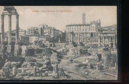 Italie -- Roma -- Foro Romano Col Campidoglio - Roma