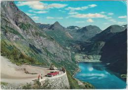 Geiranger: OPEL KAPITÄN, VOLVO PV 444/544 - The Eagle Road - Norge/Norway - Voitures De Tourisme