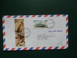35/523    LETTER  COREA - Arends & Roofvogels