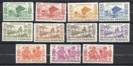 NOUVELLES-HEBRIDES  N� 144//54 NEUF* TTB