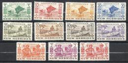 NOUVELLES-HEBRIDES  N� 155/65 NEUF* TTB