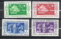 NOUVELLES-HEBRIDES  N� 167/70 NEUF* TTB