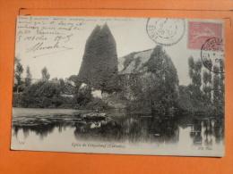 V09-14-cpa-eglise De Criqueboeuf-1905 - Other Municipalities