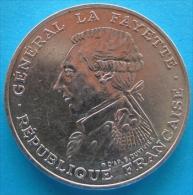 100 Francs Lafayette  1987   Argent Argento - Francia