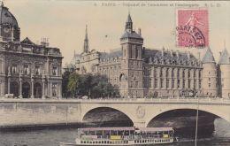 Cp , 75 , PARIS , Tribunal De Commerce Et Conciergerie - France