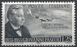 1955 ITALIA PASCOLI MNH ** - RR11783-3 - 1946-60: Mint/hinged