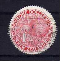 New Zealand - 1991 - $1 Dollar Kiwi - Used - Oblitérés