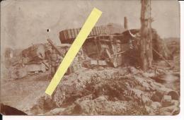 Somme Cambrais Flandres Flandern Tanks Anglais Détruits  Poilus 1914-1918 14-18 Ww1 WWI 1.wk - War, Military
