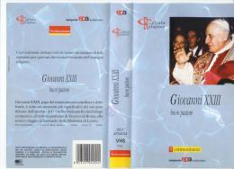 GIOVANNI XXIII - BUON PASTORE  - VHS - Geschichte