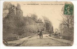 44 - CHATEAUBRIANT - Vue D´ensemble Du Vieux Château (côté Nord) - Ed. Drouard N° 1192 - Attelage - Châteaubriant