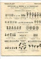 FELIX POTIN - CATALOGUE DU GROS SAISON 1911 6 Articles Pour Noel Et Jour De L An - France