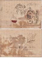 India 1831  Disinfected ..Fumigated Cover Calcutta To Gorakhpur # 49284 Indien Inde - ...-1852 Prephilately