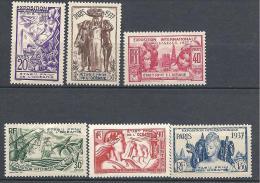 OCEANIE EXPO 1937 N� 121/26   NEUF* TTB