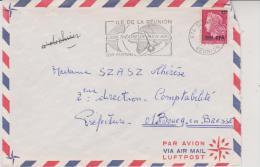 2 LETTRES AFFRANCHIES N° 402 ET 403 - SURCHARGEES C.F.A.