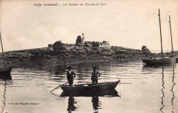 29 Lesconil Les Rochers De L'Entrée Du Port Animée - Lesconil