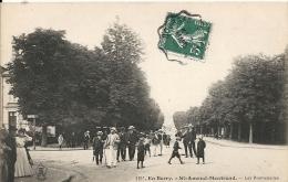 Cher : Saint Amand-Montrond, Les Promenades - Saint-Amand-Montrond