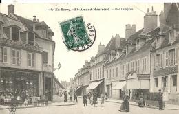 Cher : Saint Amand-Montrond, Rue Lafayette - Saint-Amand-Montrond