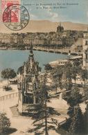 SUISSE - GENEVE - Le Monument Du Duc De Brunswick Et Le Pont Du Mont Blanc - GE Genève