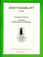 GERMANY, 1979, Ersttagblatt Nr 6,  Westdeutsche Kurzfilmtage - [7] Federal Republic