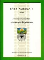 GERMANY, 1980, Ersttagblatt Nr 14,  Naturschutzgebiete - [7] Federal Republic